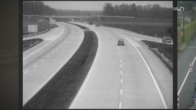 Comme si c'était hier: l'autoroute Genève-Lausanne va fêter ses 50 ans [RTS]