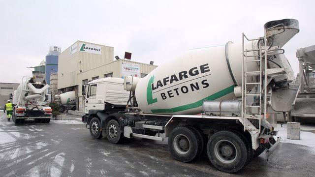Lafarge est le numéro un mondial du ciment et numéro deux des granulats. [Jacques Demarthon - AFP]