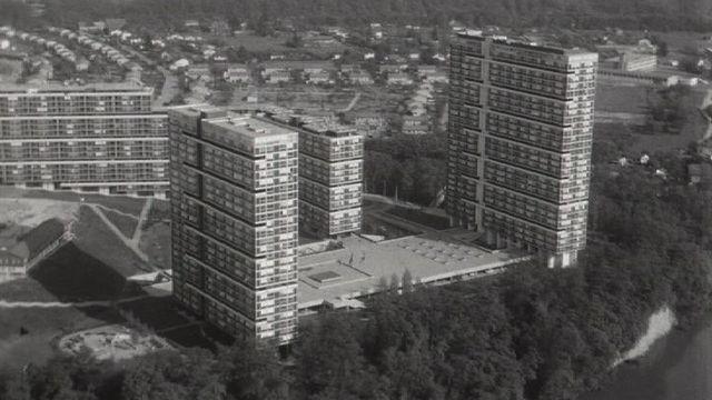 Le Lignon, Genève, 1971. [RTS]