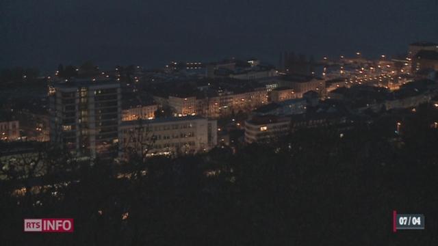 Le gaspillage d'énergie dans l'éclairage public est pointé du doigt [RTS]