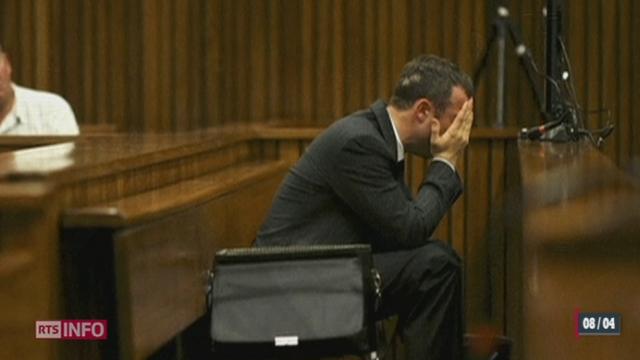 Procès Pistorius: l'accusé livre sa version des faits [RTS]