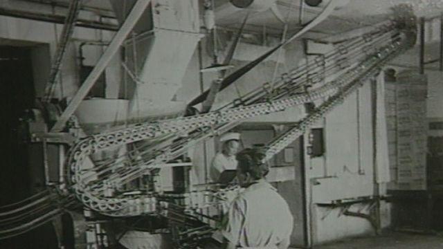 Essor industriel à Vevey [RTS]