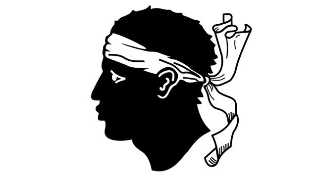Drapeau corse [Wikimedia commons.]
