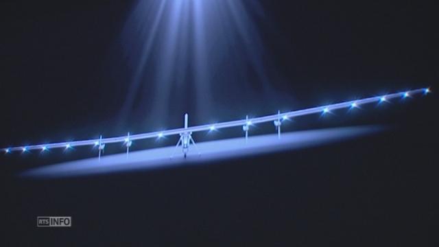 Solar Impulse 2 dévoilé à Payerne [RTS]