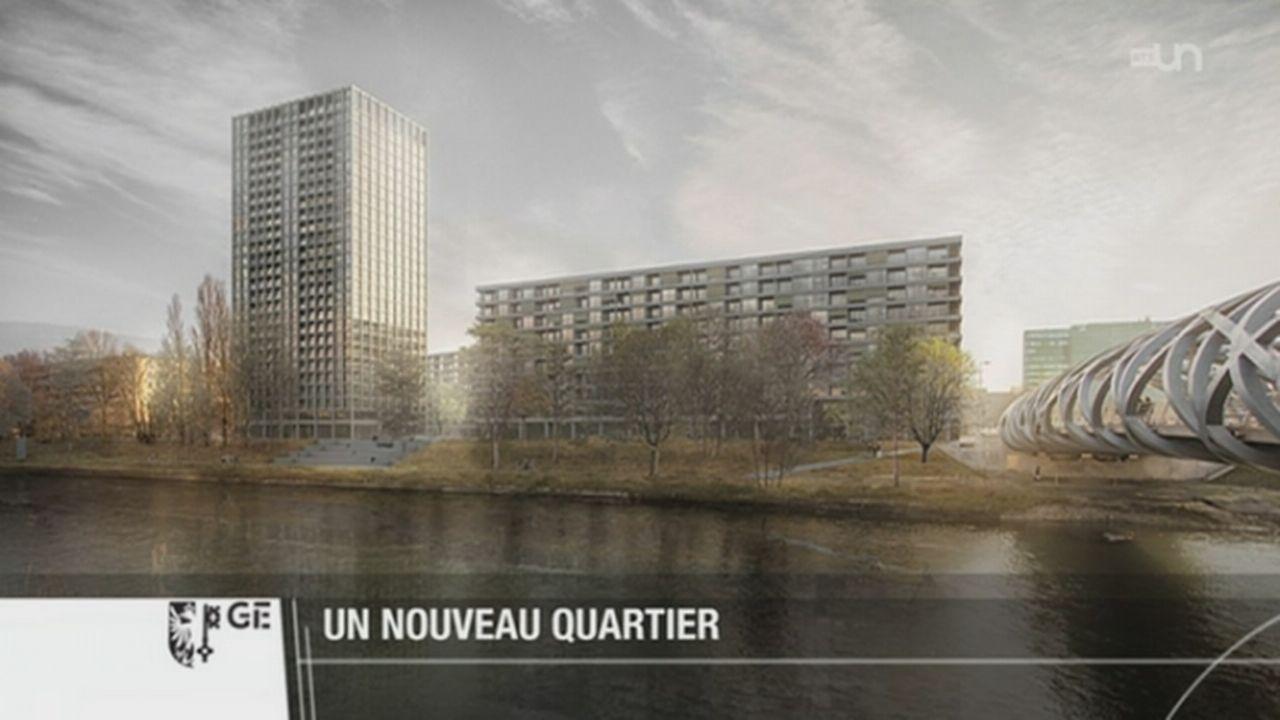 GE: la zone Praille-Acacias-les Vernets est amenée à devenir un centre urbain [RTS]