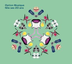 """Pochette de la compilation """"Option Musique fête ses 20 ans"""". [RTS]"""