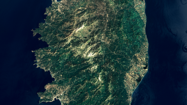 Corse 2002. [Wikimedia commons.]