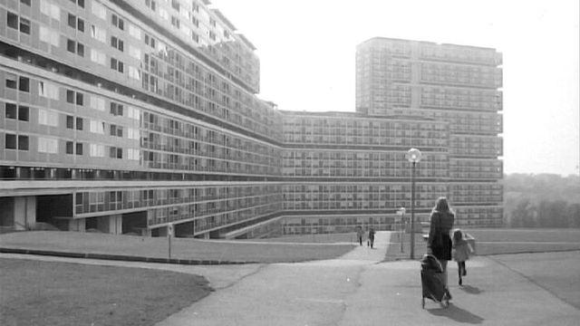 Cité suisse en 1973. [RTS]