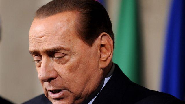 Silvio Berlusconi, le 15 février 2014. Image d'archives. [Ph. Controluce /Livia Crisafi - AFP]
