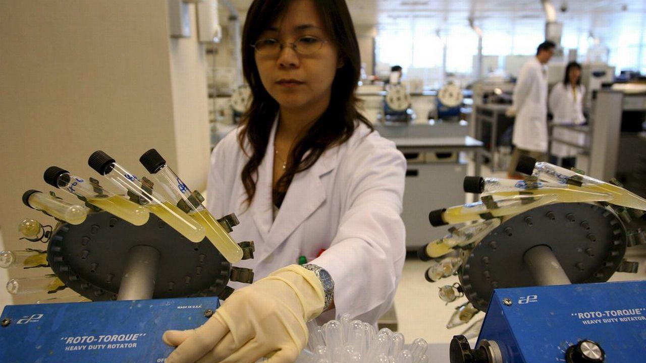 Asie Chine laboratoire recherche science scientifiques [Keystone]
