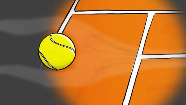 Question sur... Comment donne-t-on un effet à une balle de tennis? [RTS]