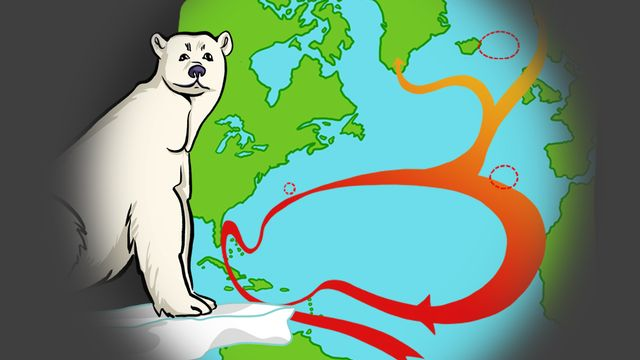 Le Gulf Stream influence-t-il notre climat? [RTS]