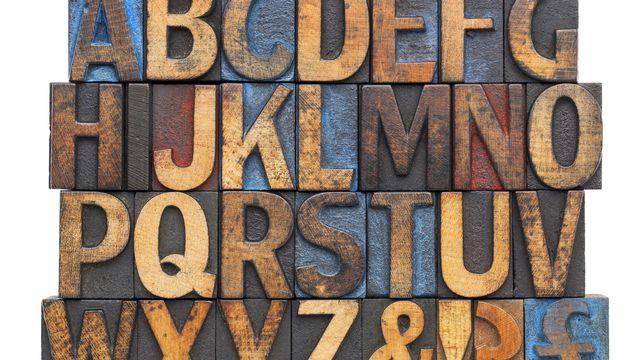 Alphabet, écriture [© Marek  - Fotolia]