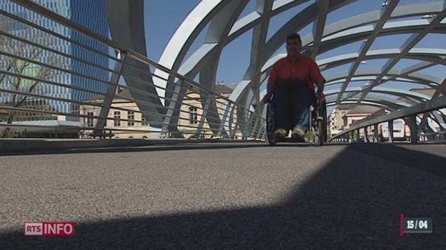 La Suisse ratifie officiellement mardi la Convention de l'ONU sur le droit des personnes handicapées [RTS]