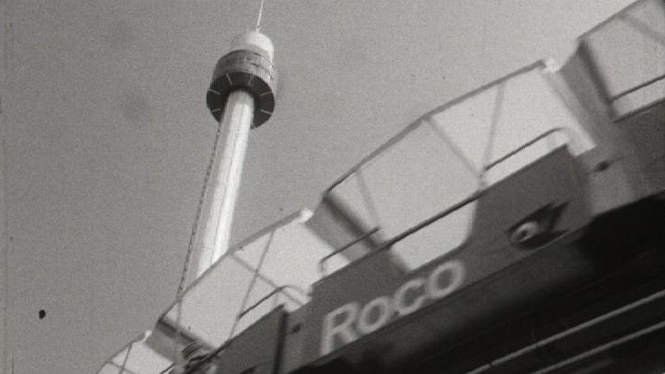 La tour Spiral de l'Expo 64. [RTS]