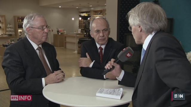 Ueli Maurer s'emporte après la diffusion d'un reportage critique sur le Gripen [RTS]