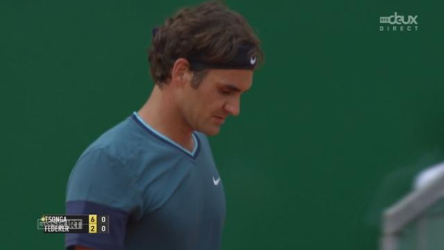 1-4, Tsonga - Federer (6-2): le Français s'empare de la 1ère manche sans trop de soucis [RTS]