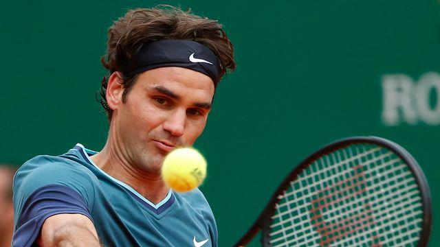 Roger Federer à Monte-Carlo. [Michel Euler - AP/Keystone]