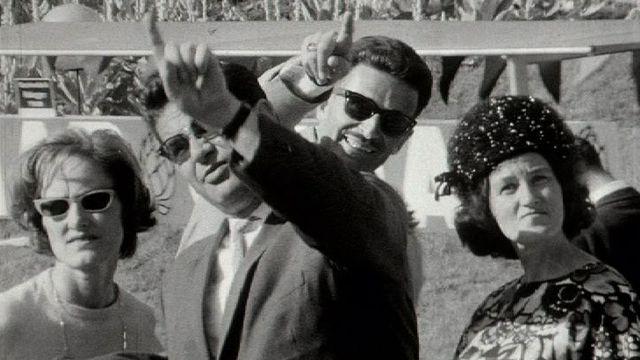 Visiteurs de l'Expo 64. [RTS]