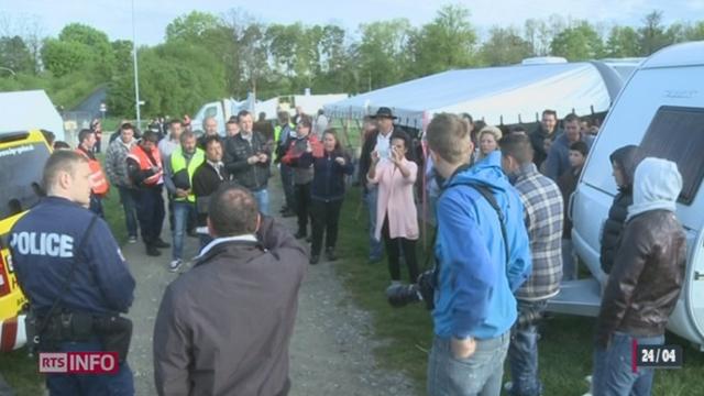 BE: l'évacuation du campement de gens du voyage suisses installé à Berne a été ordonnée [RTS]