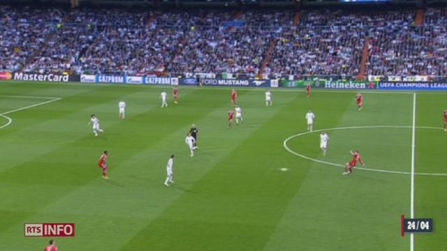 Football - Ligue des Champions: le Real Madrid a pris un léger avantage sur le Bayern Munich (1-0) [RTS]