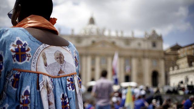 Vatican canonisation Jean-Paul II Jean XXIII Rome pape [Andrew Medichini - AP Photo]