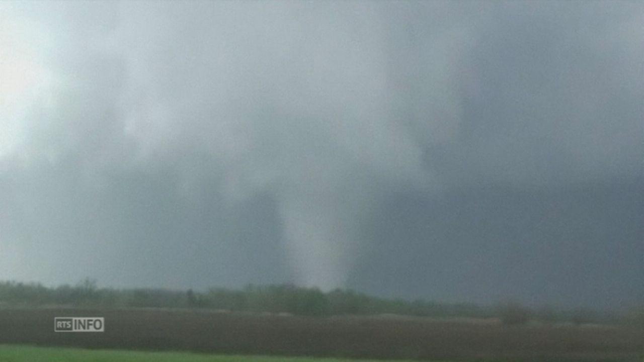 Une série de tornades frappent les Etats-Unis [RTS]