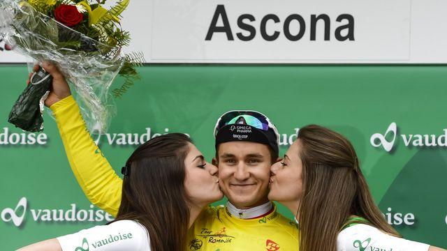 Kwiatkowski confirme son excellent semaine dans les Ardennes. [Jean-Christophe Bott - Keystone]