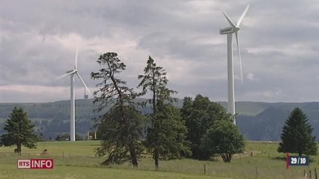 Les Services industriels de Genève et la société Ennova, active dans le domaine éolien, vont cesser toute collaboration. [RTS]