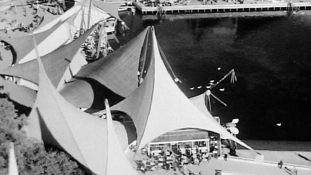 Le site de l'Expo 64. [RTS]
