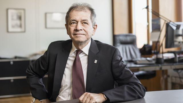 Antonio Loprieno, recteur de l'Université de Bâle et président de la Conférence des recteurs d'universités suisses. [Gaetan Bally - Keystone]