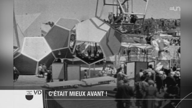 VD: le canton célèbre les 50 ans de l'Expo nationale de Lausanne [RTS]