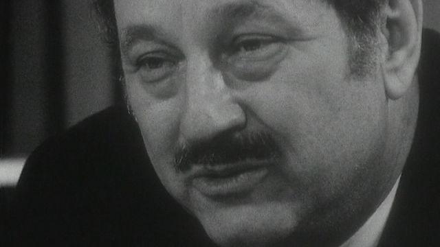 Le conseiller d'Etat genevois André Chavanne. [RTS]