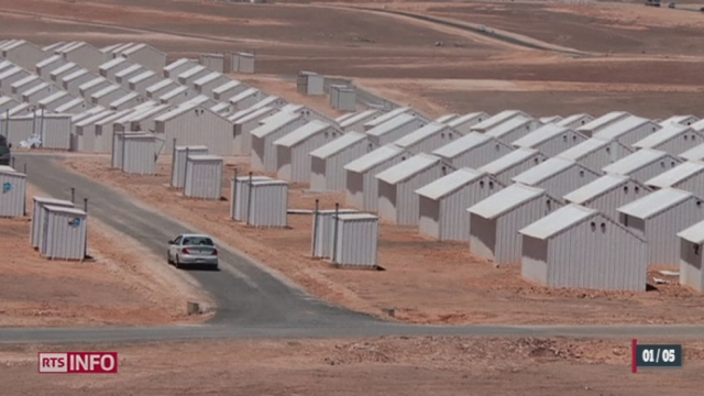 Jordanie: l'ONU inaugure un camp pour les réfugiés syriens [RTS]