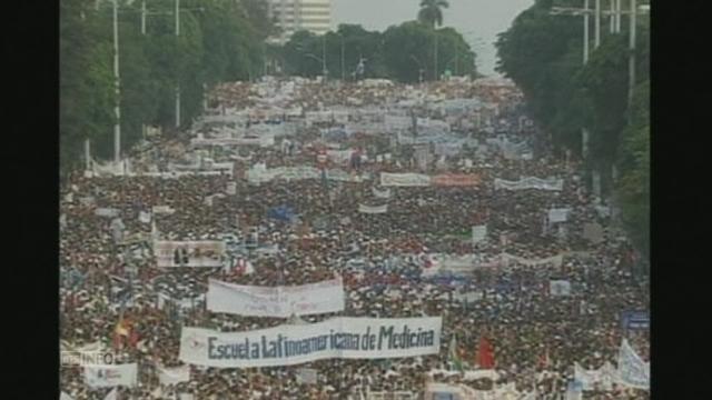 Cuba célèbre avec ferveur la Fête du Travail [RTS]