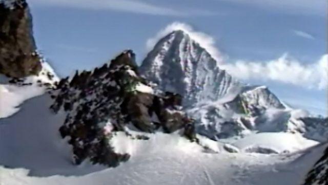 La première édition de la Patrouille des glaciers s'est courue en 1943. [RTS]
