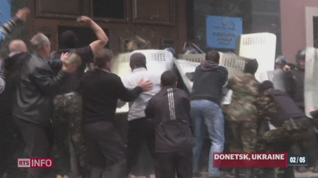 Ukraine: les tensions s'étendent dans le pays [RTS]