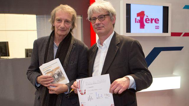 Patrick Ferla et Roland Buti. [Philippe Christin - RTS]