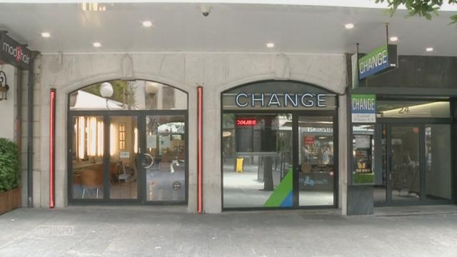 Thônex un bureau de change braqué peu avant l heure de fermeture