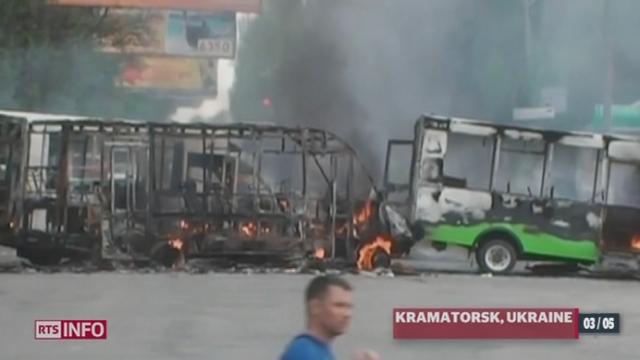 Ukraine: l'UE demande une enquête indépendante sur les violences survenues à Odessa [RTS]