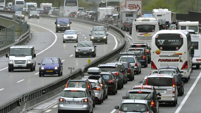 La Lega prévoit d'entraver le trafic sur l'axe de l'autoroute A2, en plein week-end de transhumance estivale. [Urs Flueeler - Keystone]