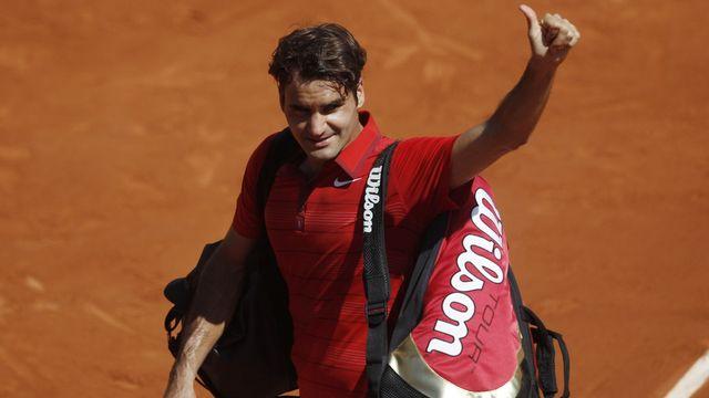 Roger Federer n'a à nouveau laissé aucune chance à son compatriote Stanislas Wawrinka. [Michel Spingler]