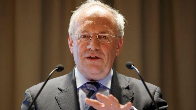 Le conseiller fédéral Johann Schneider-Ammann. [Salvatore Di Nolfi - Keystone]