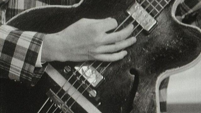 Guitariste des Wild Gentlemen. [RTS]