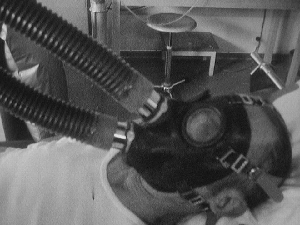 Visite dans un sanatorium de Montana. [RTS]