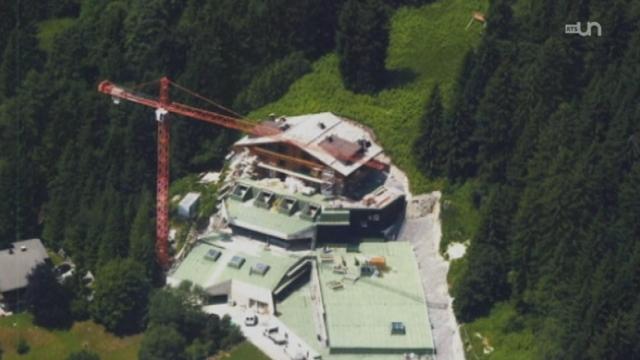 Un scandale immobilier fait rage à Villars (VD) [RTS]