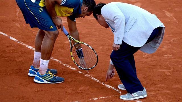 Le tournoi de Roland Garros se joue sur terre battue. [Christophe Karaba - EPA/Keystone]