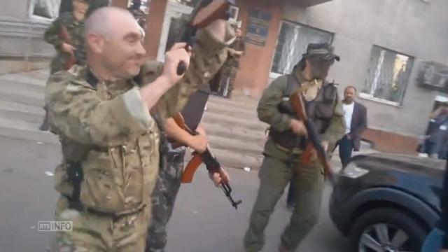 Un homme tué lors d'une manifestation en Ukraine [RTS]