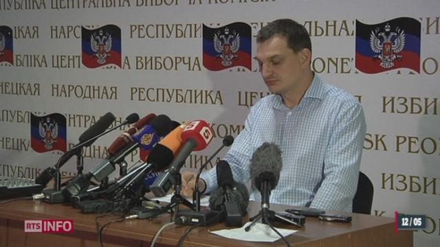 Ukraine: le OUI a été voté à près de 90% pour l'indépendance de la république de Donietsk [RTS]