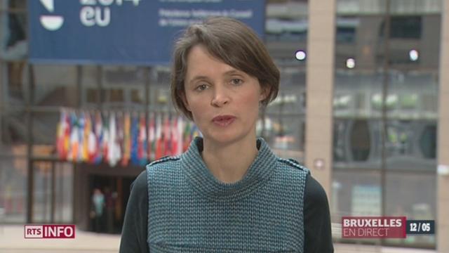 Déclarations de Didier Burkhalter: les précisions d'Isabelle Ory depuis Bruxelles [RTS]